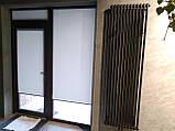 Рулонні штори Berlin. Тканинні ролети Берлін Сірий 0610, 88.5, фото 2