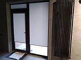 Рулонні штори Berlin. Тканинні ролети Берлін Сірий 0610, 88.5, фото 3