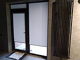 Рулонные шторы Berlin. Тканевые ролеты Берлин Серый 0610, 88.5, фото 3