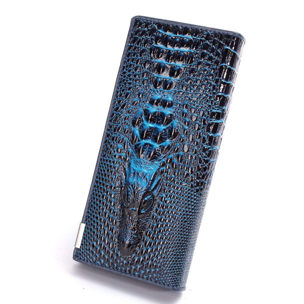 """Жіночий гаманець """"крокодил"""" Модель 05208"""