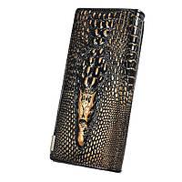 """Жіночий гаманець """"крокодил"""" Модель 05208, фото 3"""