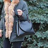 Сумка женская модная бордовая, фото 4