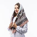 Кашемірова хустка з принтом 90х90см, фото 10