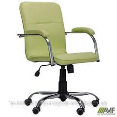 Кресло Самба-RC Хром Софт Неаполь N-34 без канта