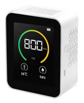 Анализатор качества воздуха датчик углекислого газа СО2 температура влажность