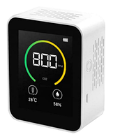 Аналізатор якості повітря датчик вуглекислого газу СО2 температура вологість