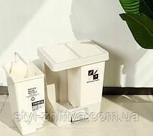 Набір з 2-х контейнерів для сортування відходів 2х10л