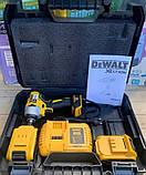 Гайковерт аккумуляторный ударный безщеточный DeWalt (24V/4А) два акб в кейсе., фото 2