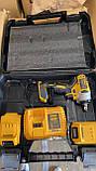 Гайковерт аккумуляторный ударный безщеточный DeWalt (24V/4А) два акб в кейсе., фото 4