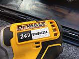 Гайковерт аккумуляторный ударный безщеточный DeWalt (24V/4А) два акб в кейсе., фото 6