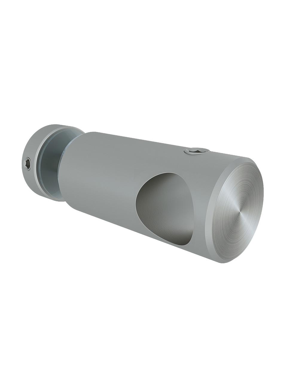 ODF-09-12-01 Кріплення штанги 16 мм до скла наскрізне Т-образне сатин.