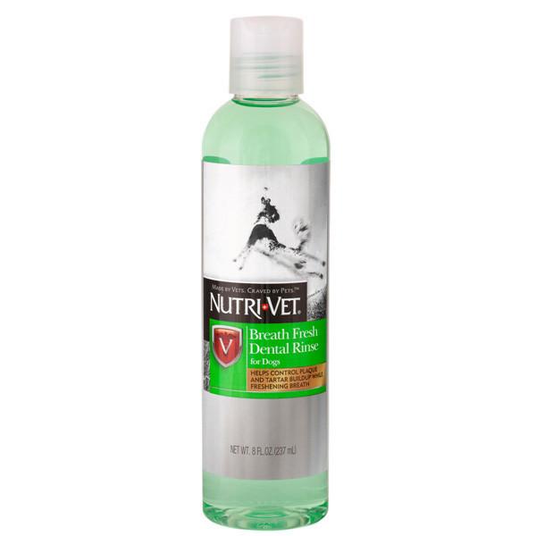 Nutri-Vet Breath Fresh НУТРИ-ВЕТ СВЕЖЕЕ ДЫХАНИЕ жидкость для собак от зубного налета и запаха из пасти,