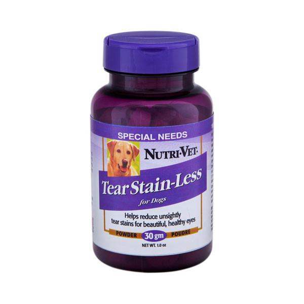 Nutri-Vet Tear Stain-Less ВСЕРЕДИНІ-ВЕТ ПРОТИ сліз добавка для собак, 30 г