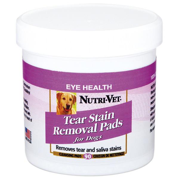 Nutri-Vet Tear Stain Removal dog ВСЕРЕДИНІ-ВЕТ ОЧИЩЕННЯ ПЯТЕН вологі серветки для собак, від плям під очима,