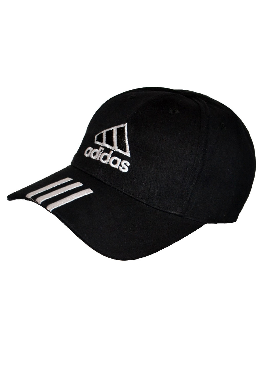 Бейсболка кепка чоловіча Adidas чорна