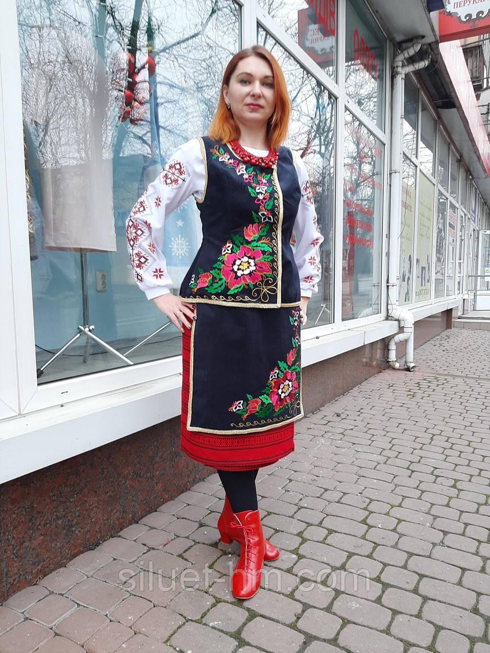 Костюм жіночий Центральна Україна