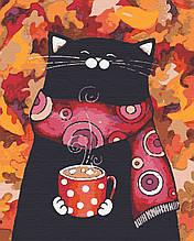 Картины по номерам животные кошки 40х50 Листокот
