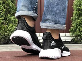 Черные кроссовки мужские текстиль, фото 2