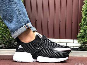 Черные кроссовки мужские текстиль, фото 3