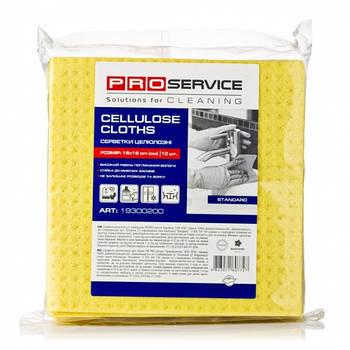 PRO салфетки целлюлозные 16х16 10 шт / уп (19300200)
