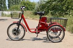 Електроскутер триколісний Skybike трицикл (350W-36V) Red