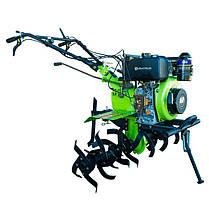 Мотоблок дизельний Кентавр МБ 2061 Д (6 к. с.) з повітряним охолодженням двигуна з електростартером, фото 3