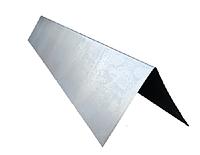 Конек для крыши оцинкованный 2м (25×25)