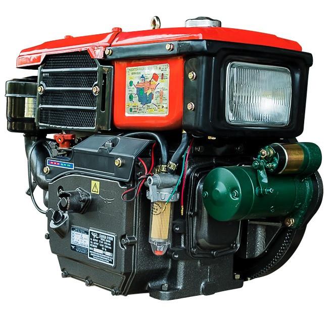 Двигатель Кентавр ДД190ВЭ (10.5 л.с.) дизельный с водяным охлаждением мотоблочный с электростартером