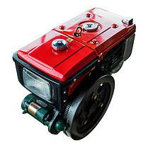 Двигатель Кентавр ДД190ВЭ (10.5 л.с.) дизельный с водяным охлаждением мотоблочный с электростартером, фото 2
