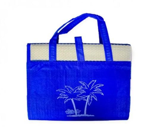 Сумка-килимок для пляжу і пікніка GM18191 Блакитний