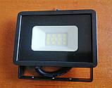 Уличный настенный энергосберегающий Led освещение прожектор без датчика движения LED-10W 850 Lm Lebron LF, фото 3