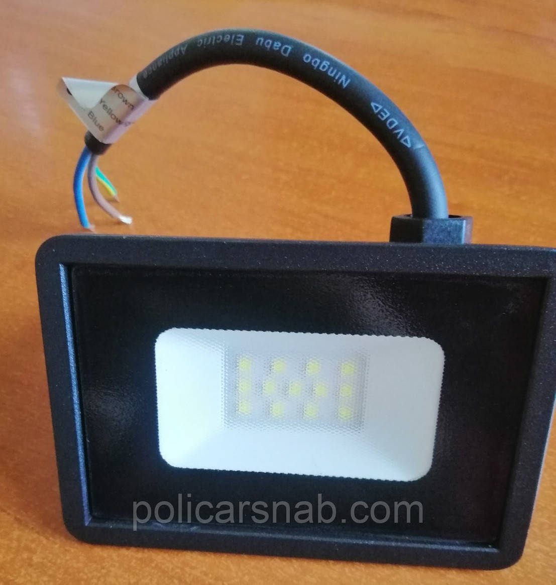 Уличный настенный энергосберегающий Led освещение прожектор без датчика движения LED-10W 850 Lm Lebron LF