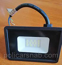 Вуличний настінний енергозберігаючий Led освітлення прожектор без датчика руху LED-10W 850 Lm Lebron LF