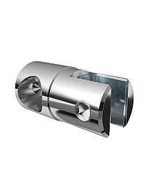 ODF-09-17-02 Кріплення душової штанги 16 мм для скла накидное, регульоване, глухе, склотримач полір.