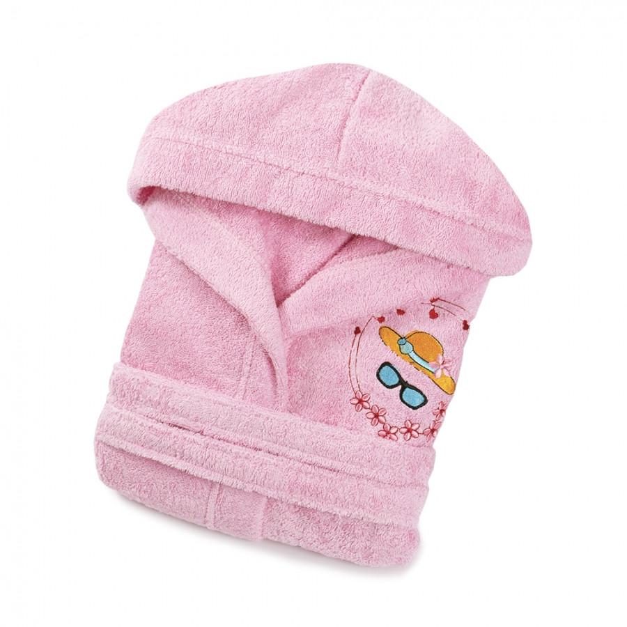 Халат дитячий Lotus - Hat 3-4 роки рожевий