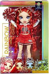 Ігровий набір з червоною лялькою Мосту Хай Рубі Черлідер Rainbow High Cheer Ruby Anderson