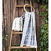 Полотенце Barine Pestemal - Kilim 90*160 Denim синее, фото 2