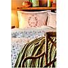 Набір постільна білизна з покривалом піку Karaca Home - Sonya yesil зелений піку 200*230 євро, фото 3