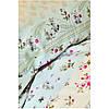 Набір постільна білизна з покривалом піку Karaca Home - Sonya yesil зелений піку 200*230 євро, фото 6