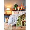 Набір постільна білизна з покривалом піку Karaca Home - Sonya yesil зелений піку 200*230 євро, фото 7