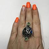 Лабрадор мистик топа18,5 р кольцо с натуральным лабрадором в серебре кольцо с лабрадором кольцо лабрадор Индия, фото 4
