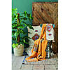 Набор постельное белье с покрывалом Karaca Home - Mentha hardal горчичный евро, фото 2