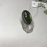 Лабрадор 17,5 р кольцо с натуральным лабрадором в серебре кольцо с лабрадором кольцо лабрадор Индия, фото 6