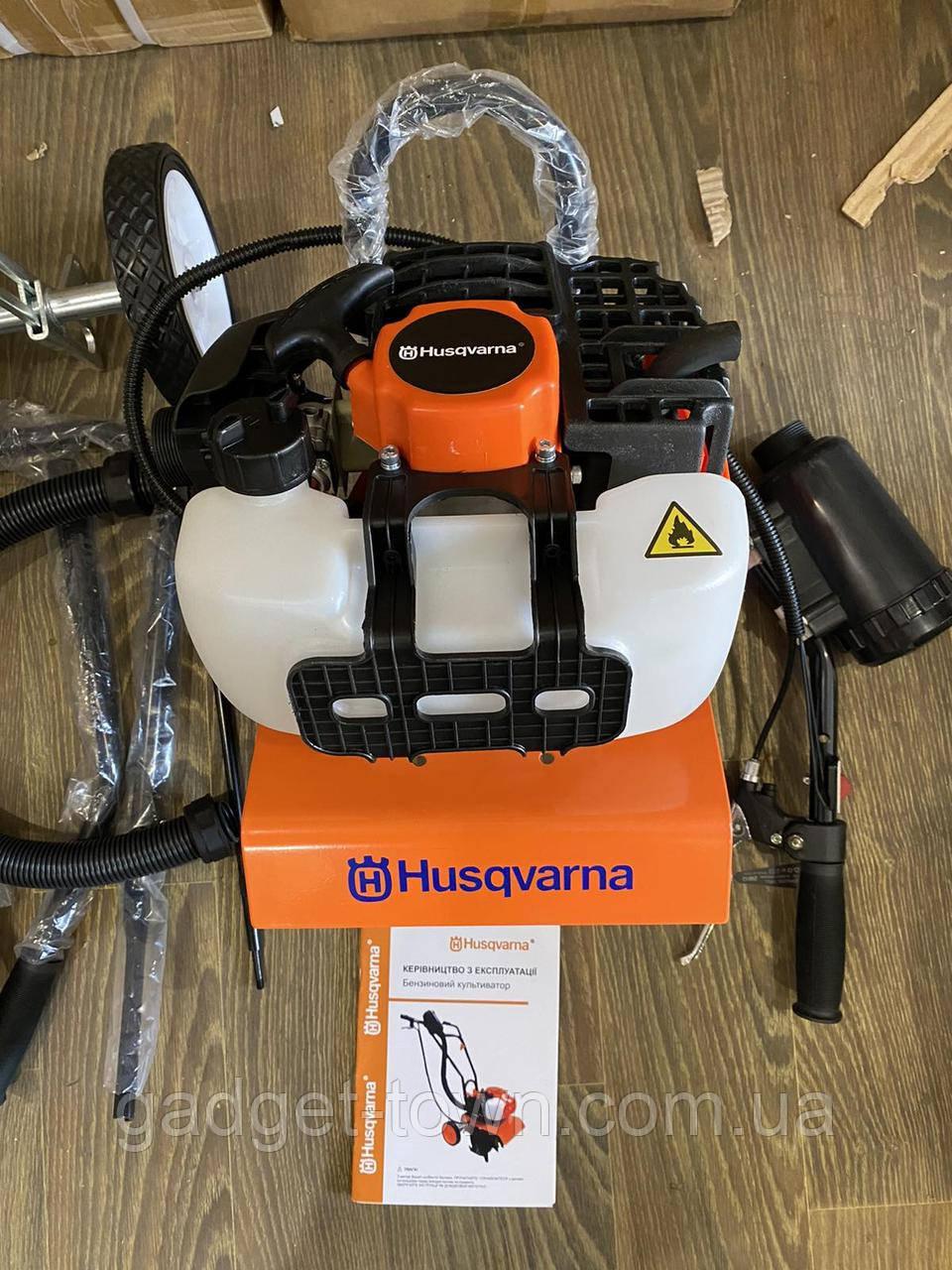 Мотокультиватор Husqvarna культиватор бензиновий 2-х тактний (2.4 л.с 62 куб см)