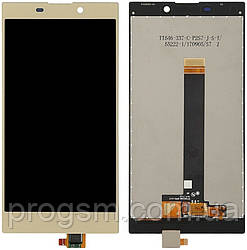 Дисплей Sony Xperia L2 Dual (H4311) complete Gold