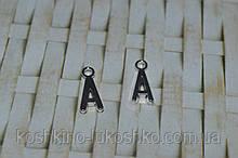 Підвіска буква А. метал. англійський алфавіт