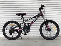 """Велосипед TopRider-611 20"""" гірський, рама 13"""", фото 1"""