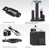 Багатофункціональна вертикальна охолоджуюча підставка DOBE для PS4 / Pro / Slim + PS VR / PS Move / Dualshock, фото 5