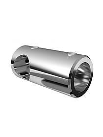 ODF-09-19-02 Т-образний з'єднувач для душової штанги 16 мм для скла, полірований х., душові стійки та тримачі