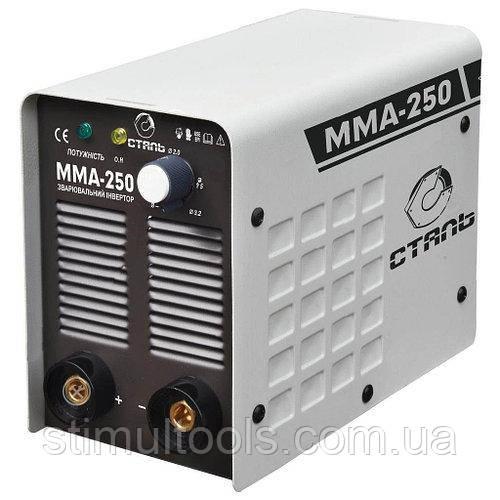 Зварювальний інвертор Сталь ММА-250 (варить алюміній)